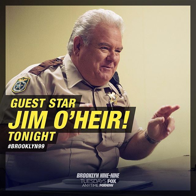 Jim O'Heir joins #Brooklyn99 on tonight's all-new episode!