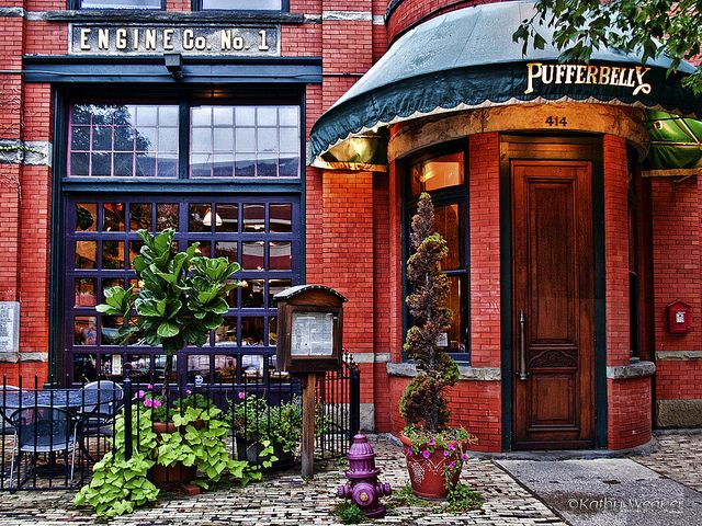 A Great Place To Eat In Downtown Erie Pa Love The Sunday Brunches Unique Atmosphere This Renovated Firehouse Pufferbelly By Kweaver2 Via Flickr