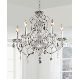 Shop for new orleans 5 light crystal chandelier get free shipping overstock online shopping bedding furniture electronics jewelry clothing more aloadofball Images
