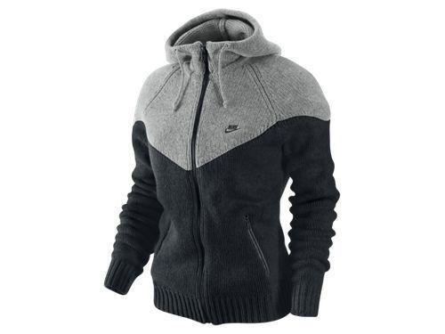 24e0043f0fc5c Nike Women's Sweater Knit Windrunner 445280-010:Amazon:Clothing ...