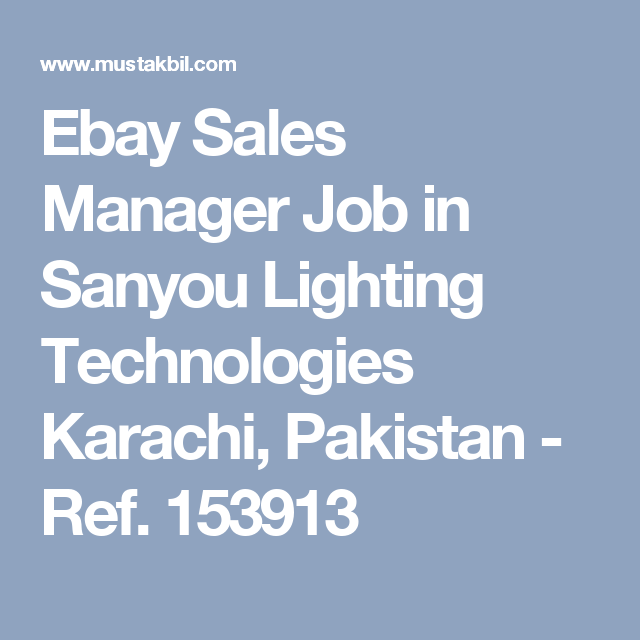 Sales Manager Job Cakes And Bakes Lahore  Pakistan  Jobs In