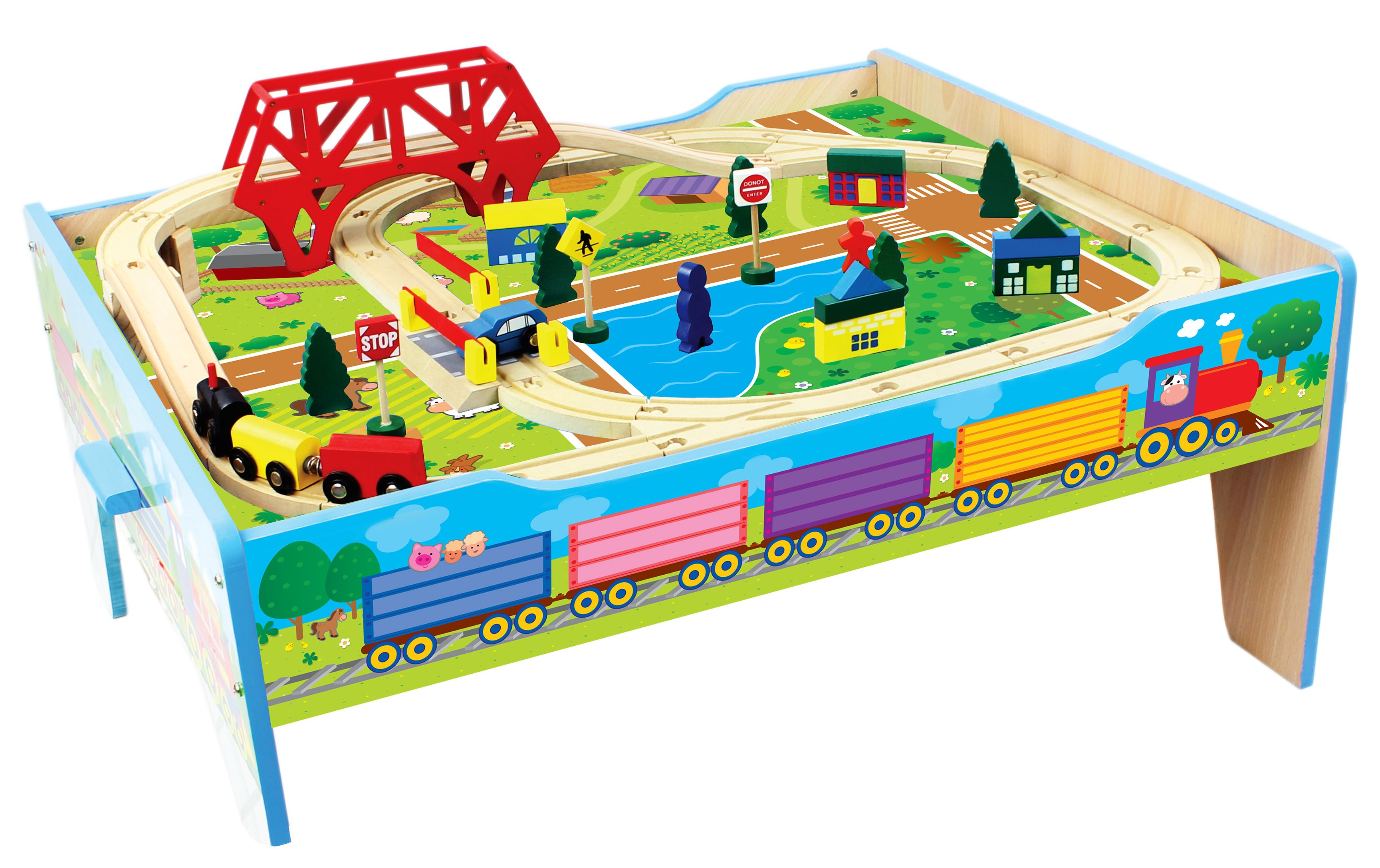 Kmart.com. Kmart DealsTrain TableTable AccessoriesWooden ...  sc 1 st  Pinterest & Small world play table. From Kmart   Toys to Make   Pinterest ...
