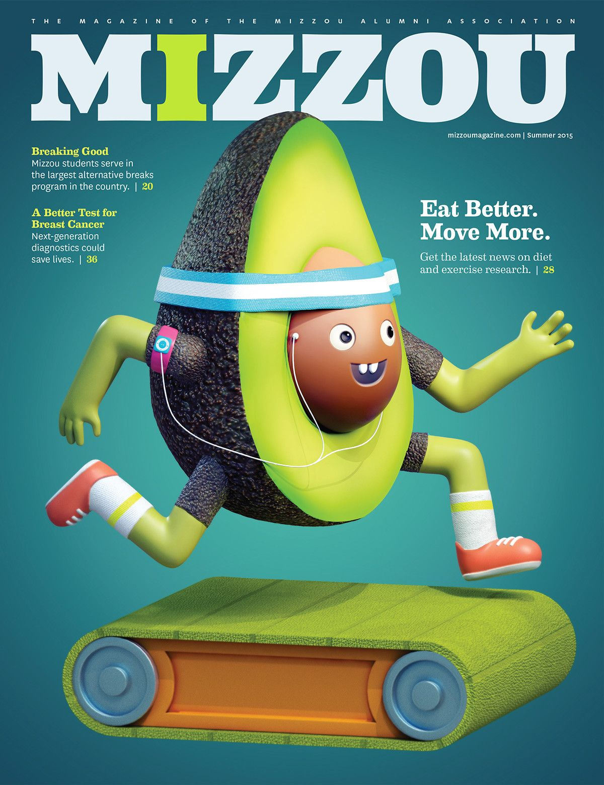 EAT BETTER & MOVE MORE: Mizzou on Behance