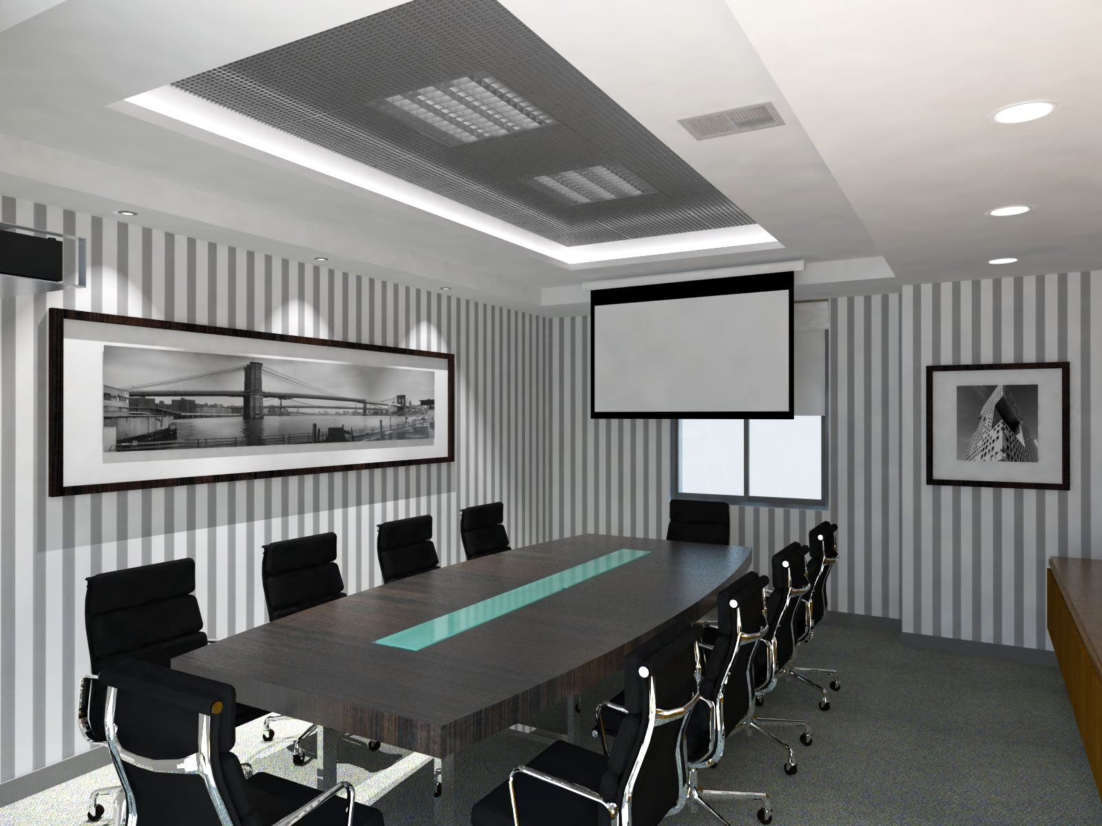 Oniria sala de reuniones oficinas ideas pinterest for Areas de una oficina