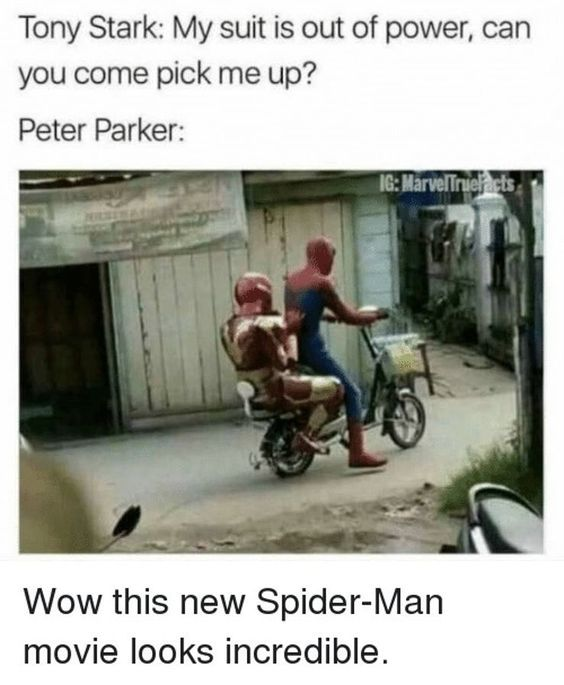 33 Hilariously Savage Tony Stark And Peter Parker Memes That Will Make You Laugh Hard #peterparker