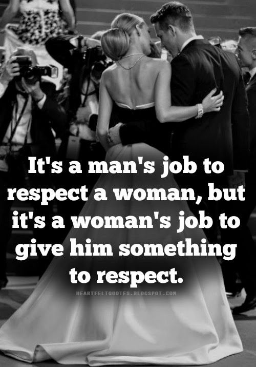 How to regain respect from a guy
