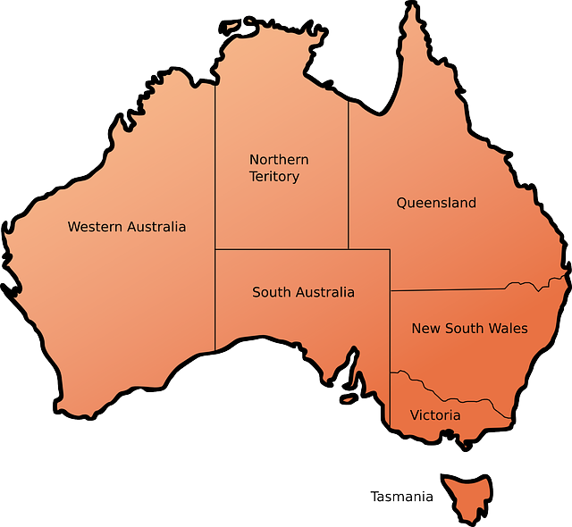 Australia Facts For Kids From Cool Kid Facts Australia - Map of australia for kids