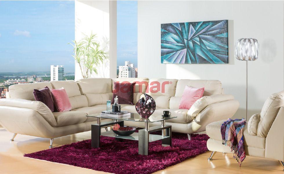 Sala contemporanea shering decoracion decor ideas for Muebles salas contemporaneas