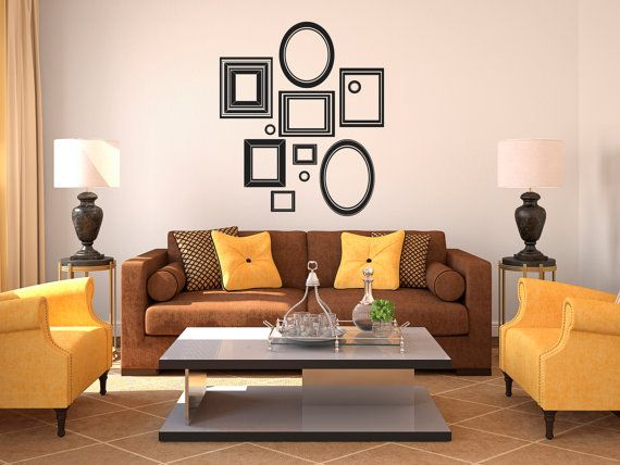 Vinyl Wall Art Decal Custom Stickers Picture Frames By Danadecals - Custom vinyl wall decals cats