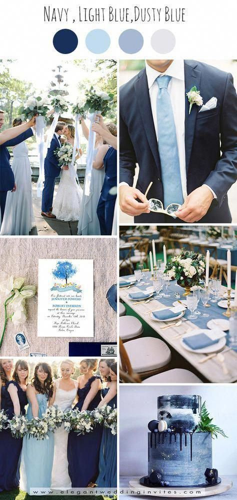 trendy shades of blue garden wedding color ideas weddingplanner