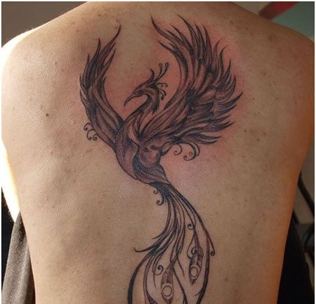 top 10 phoenix tattoo designs lower backs back tattoos and tattoo designs. Black Bedroom Furniture Sets. Home Design Ideas