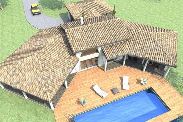 Plan Maison Mediterraneenne Ooreka