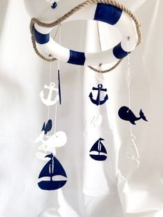 Ahoy Baby Mobile By Theyellophant On Etsy 55 The Perfect Accessory For Your Sweet Nursery