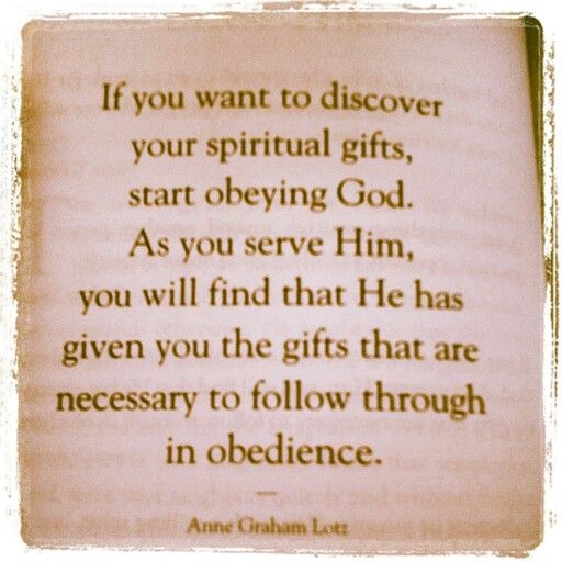 Quote from anne graham lotz truth no11 pinterest anne wisdom from anne graham lotz on spiritual gifts negle Image collections