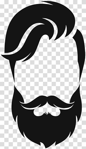Silhouette Beard Moustache Hair Style Beard And Hair Illustration Transparent Background Png Clipart In 2020 Beard Illustration Hair Illustration Beard Silhouette