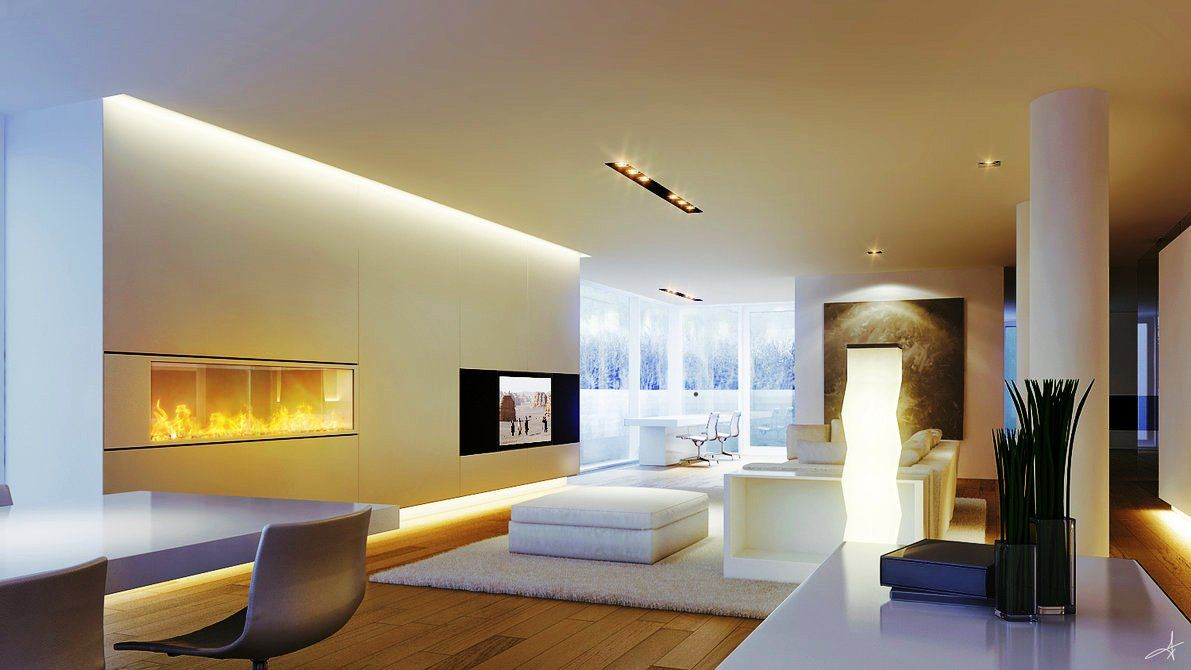 Lighting Makes All The Difference Living Room Lighting Modern