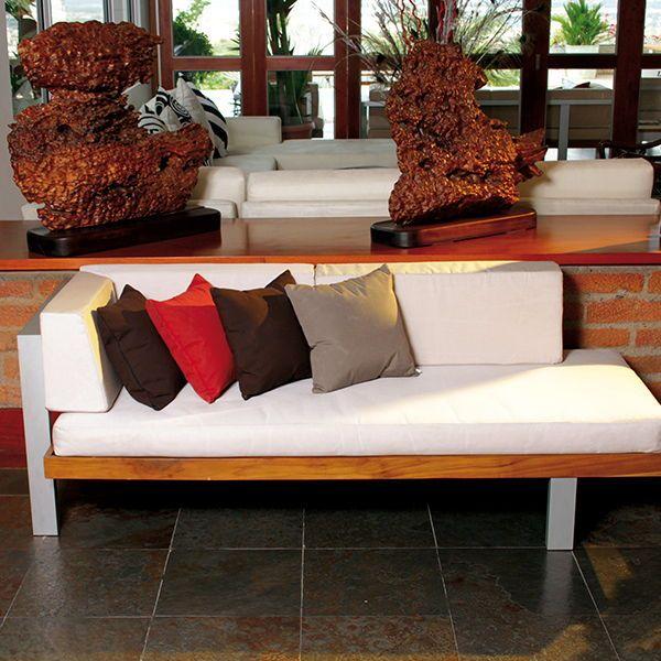 Sofá Montecarlo Aluminio de un brazo by Parasoles Tropicales