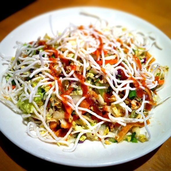 CPK\'s Thai crunch salad in dish and delicious looking. | Food ...