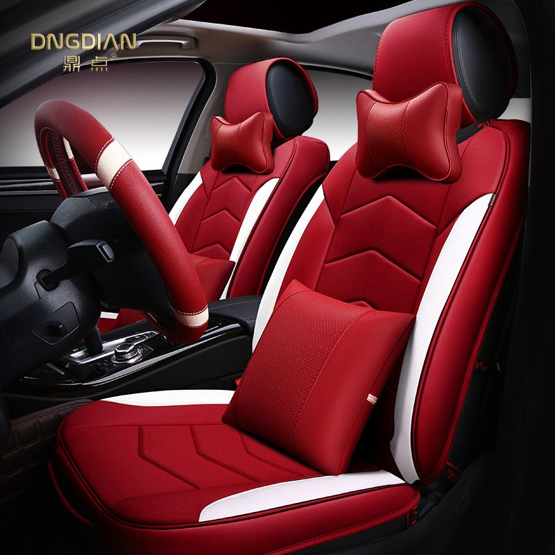 Customize Car Seat Cover Leather Cushion For Ferrari Gmc Savana Jaguar Smart Lamborghini Murcielago Gallardo Ro