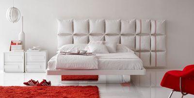 creare testata del letto con cuscini | Diy decor | Pinterest ...