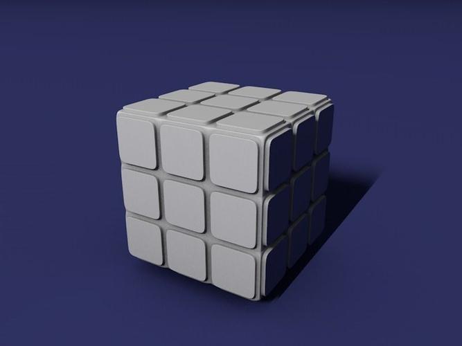 Rubiks Cube 3d Print Model Rubiks Cube Cube Print Models
