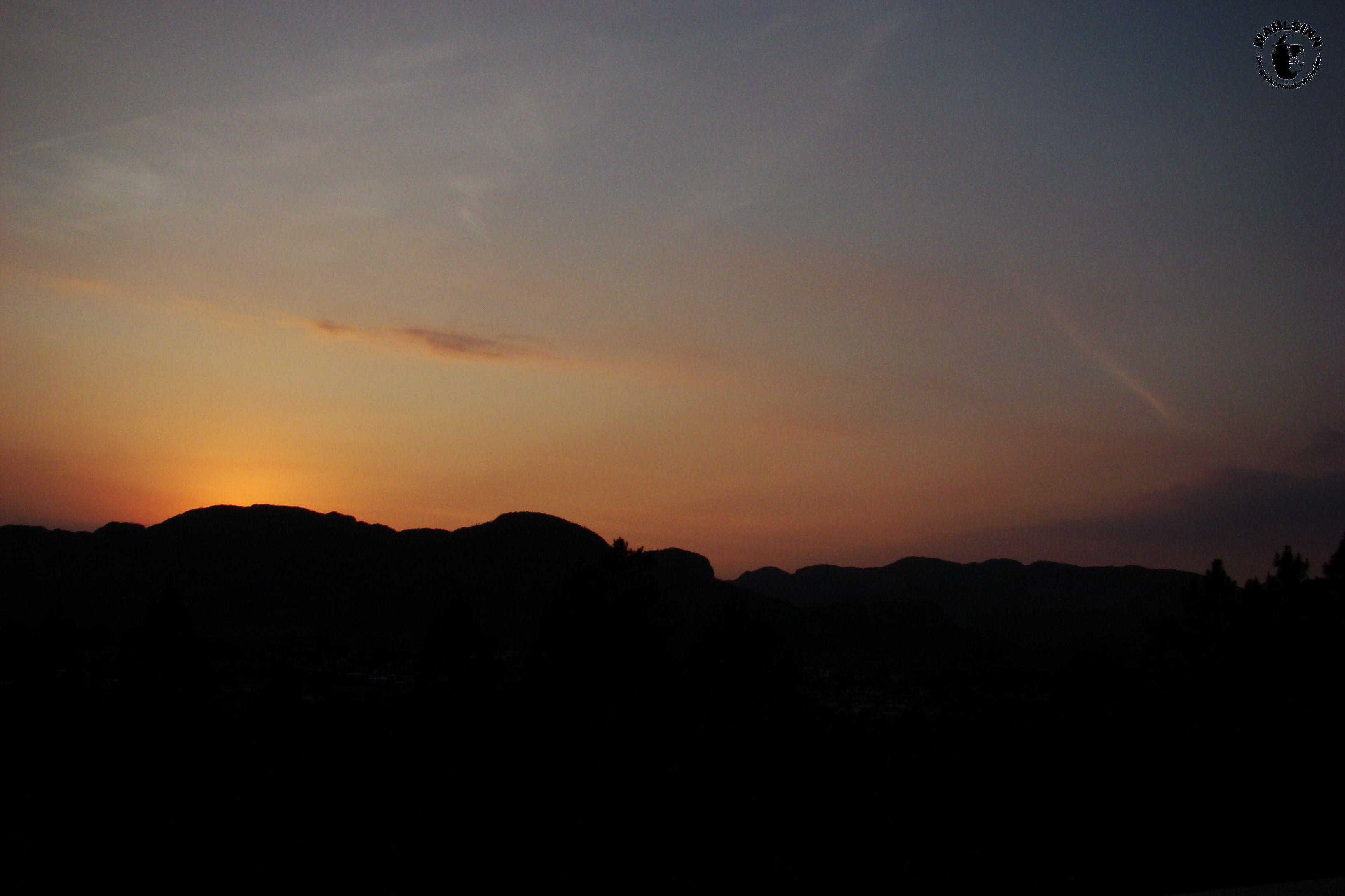 Sonnenuntergang // Vinalles (Kuba)