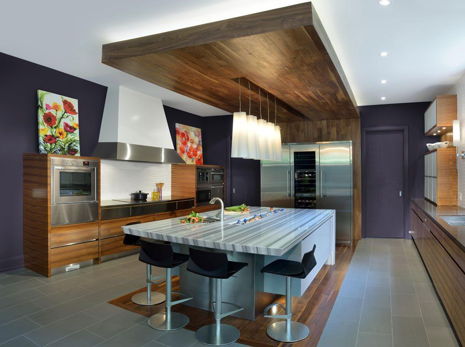 From Flora To Fauna This Spring S Patterns Are Natural Stunners Kitchen Cabinet Design Cool Kitchens Modern Kitchen