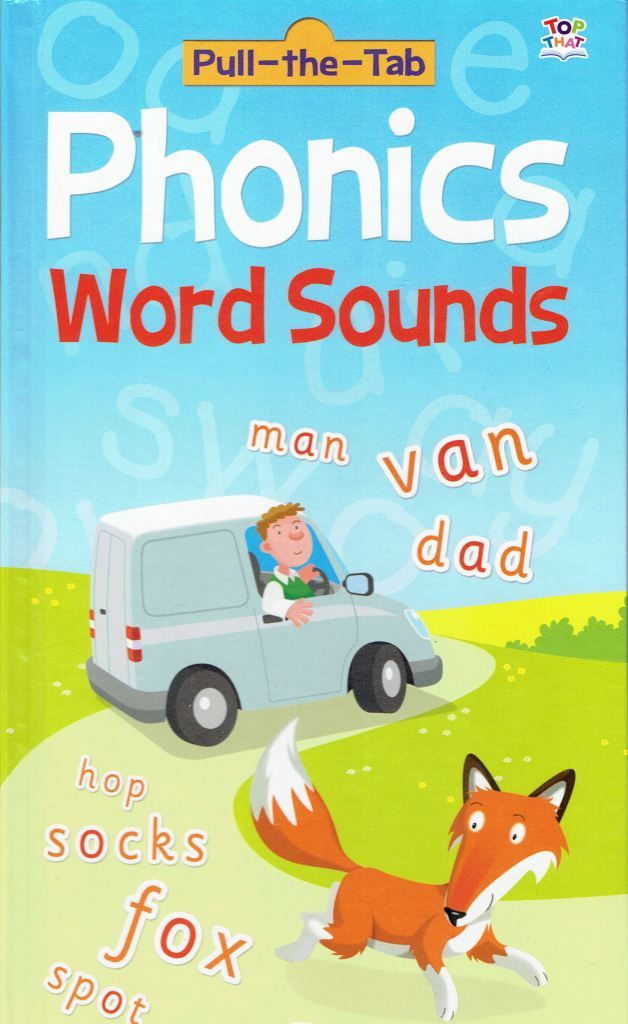 A really cute book for kids learning how to sound out letters and learn how phonics words to form words.  Phonics Word Sounds Book Review