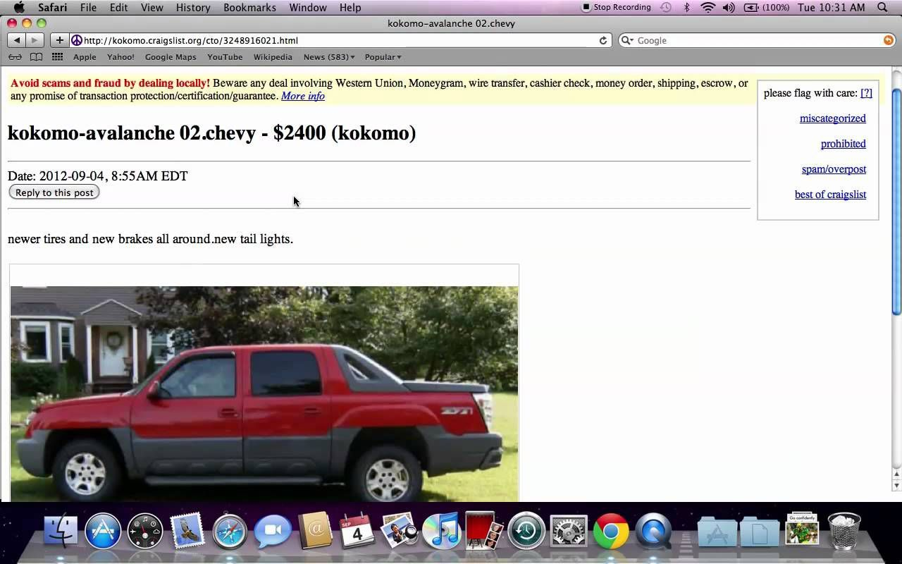 Chevy Colorado For Sale Craigslist Indiana Chevy