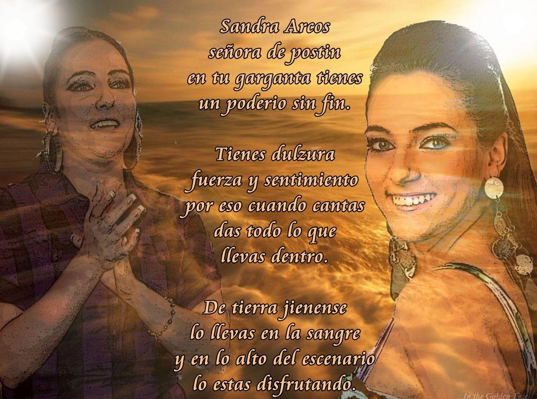 Sandra, cantante.