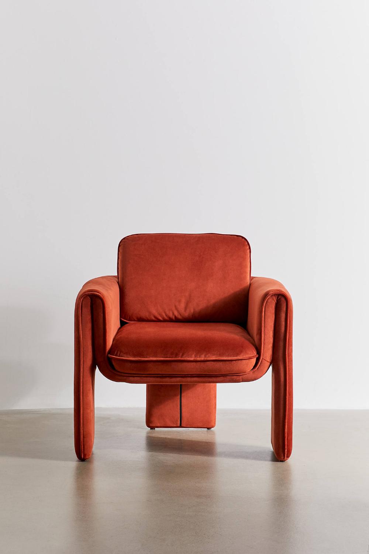 Floria Velvet Chair Velvet Chair Chair Armchair