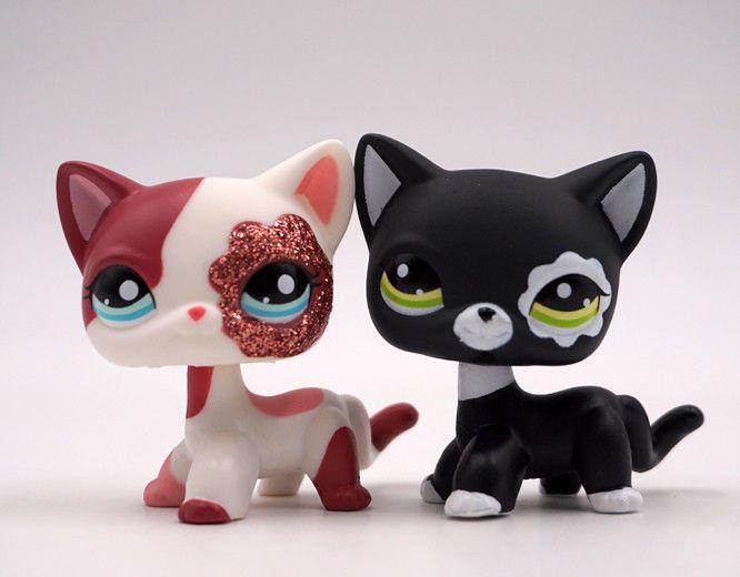 796 2pcs Shorthair Cat Sparkle Glitter 22492291 Toy Blue Eye