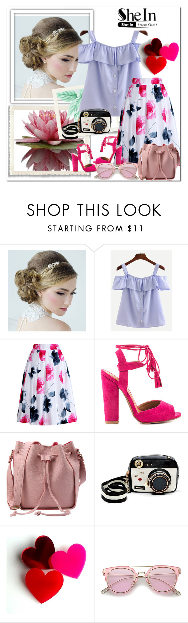"""Shein"" by begajeta2309 ❤ liked on Polyvore featuring Relaxfeel, Qupid and Betsey Johnson"