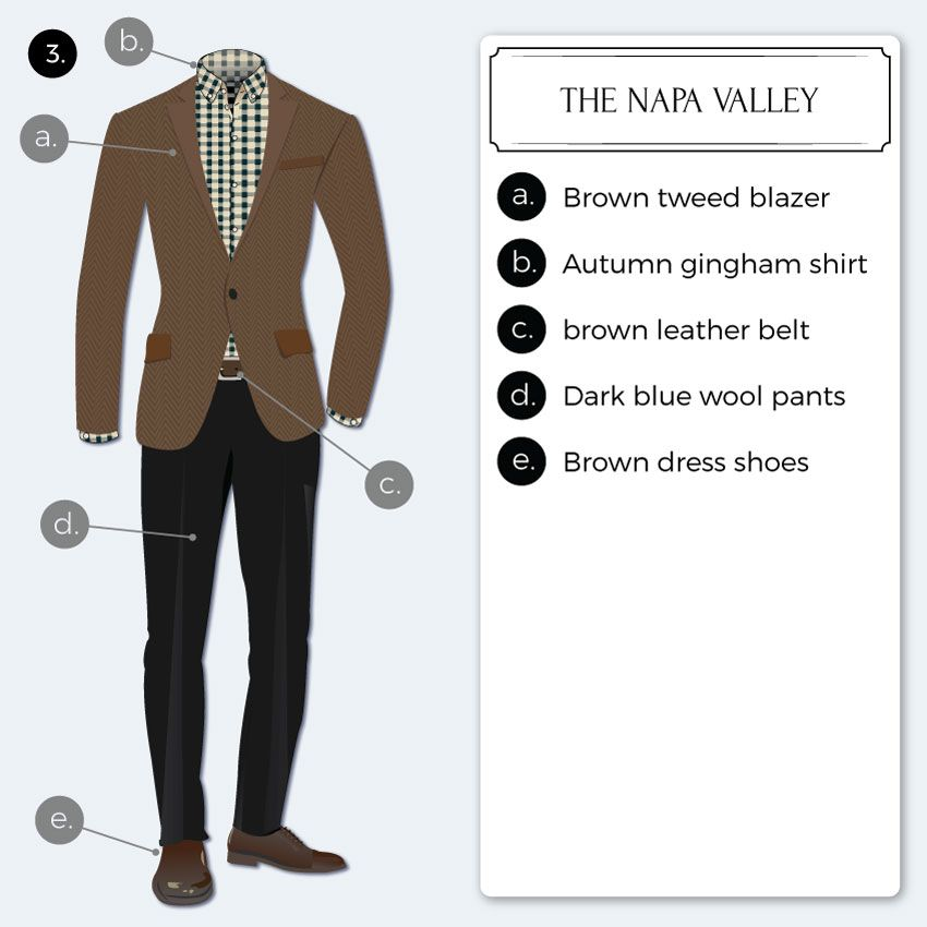 how to dress for business casual attire - Napa Styles