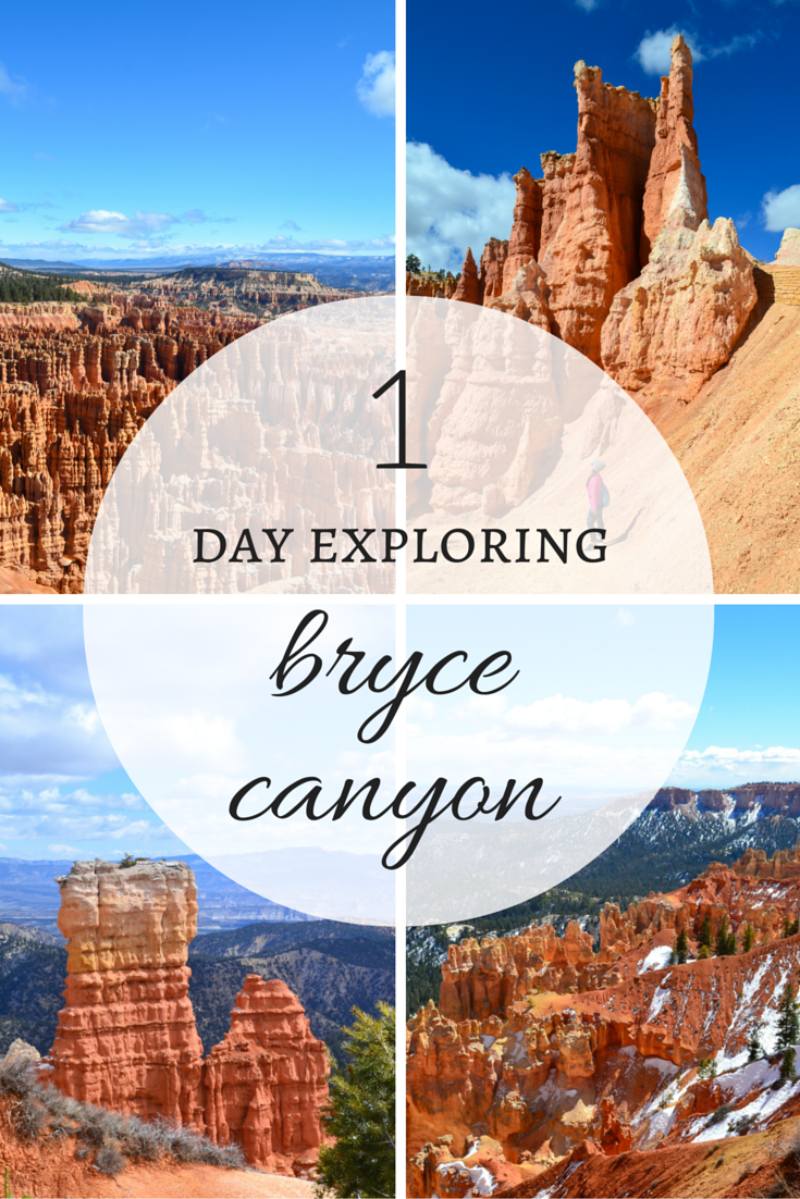 Only have one day to explore Bryce Canyon National Park in Utah?  Don't fret - you can do SO much in one day in Bryce Canyon! (I promise!) --> see what we saw in just one day!