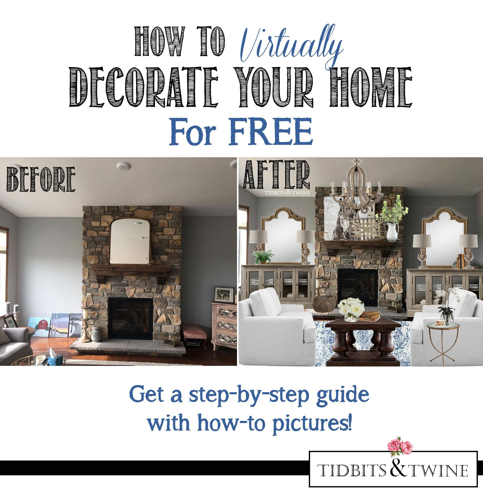 how to virtually decorate your home for free