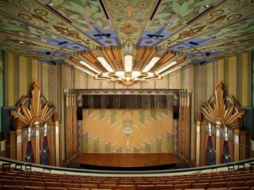 Interior Of The Fox Theater A Beautiful 1931 Art Deco