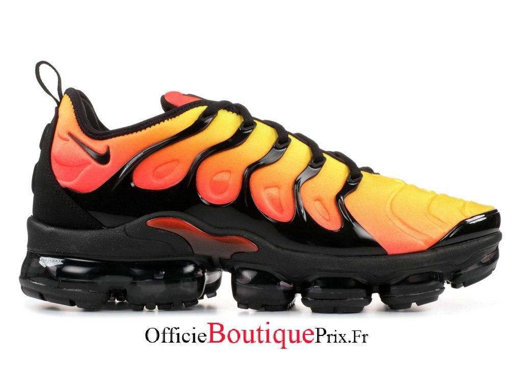 Nike Air Vapormax Plus TM Orange Black 924453 051 Chaussure