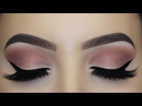 Soft Mauve Winged Liner Makeup Tutorial - YouTube #Wingedliner #wingedliner