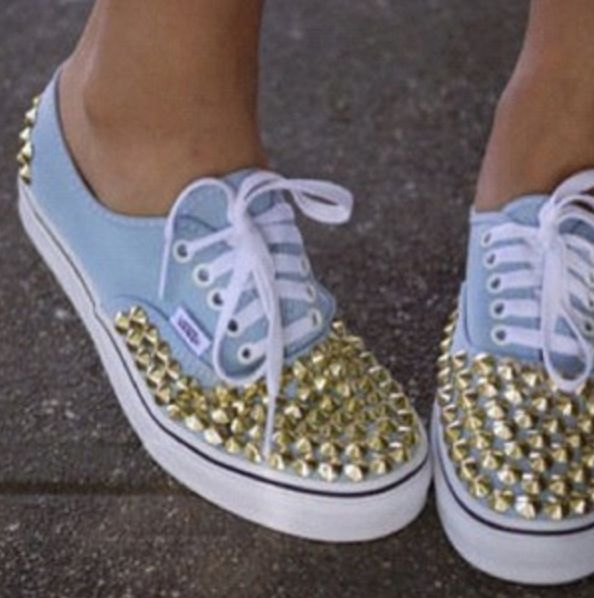 #spikes #vans #shoes