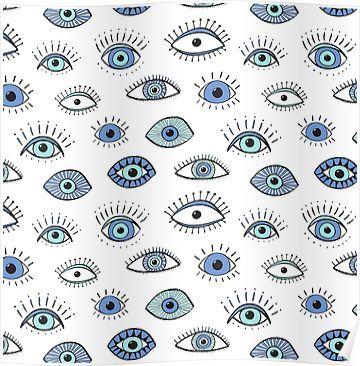 Evil eye! Poster by vivdesign