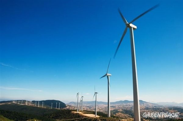 ¡Quijotes renovables!   Greenpeace España