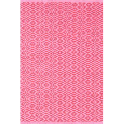Dash and Albert Rugs Fair Isle Hand Woven Pink Area Rug Rug Size ...