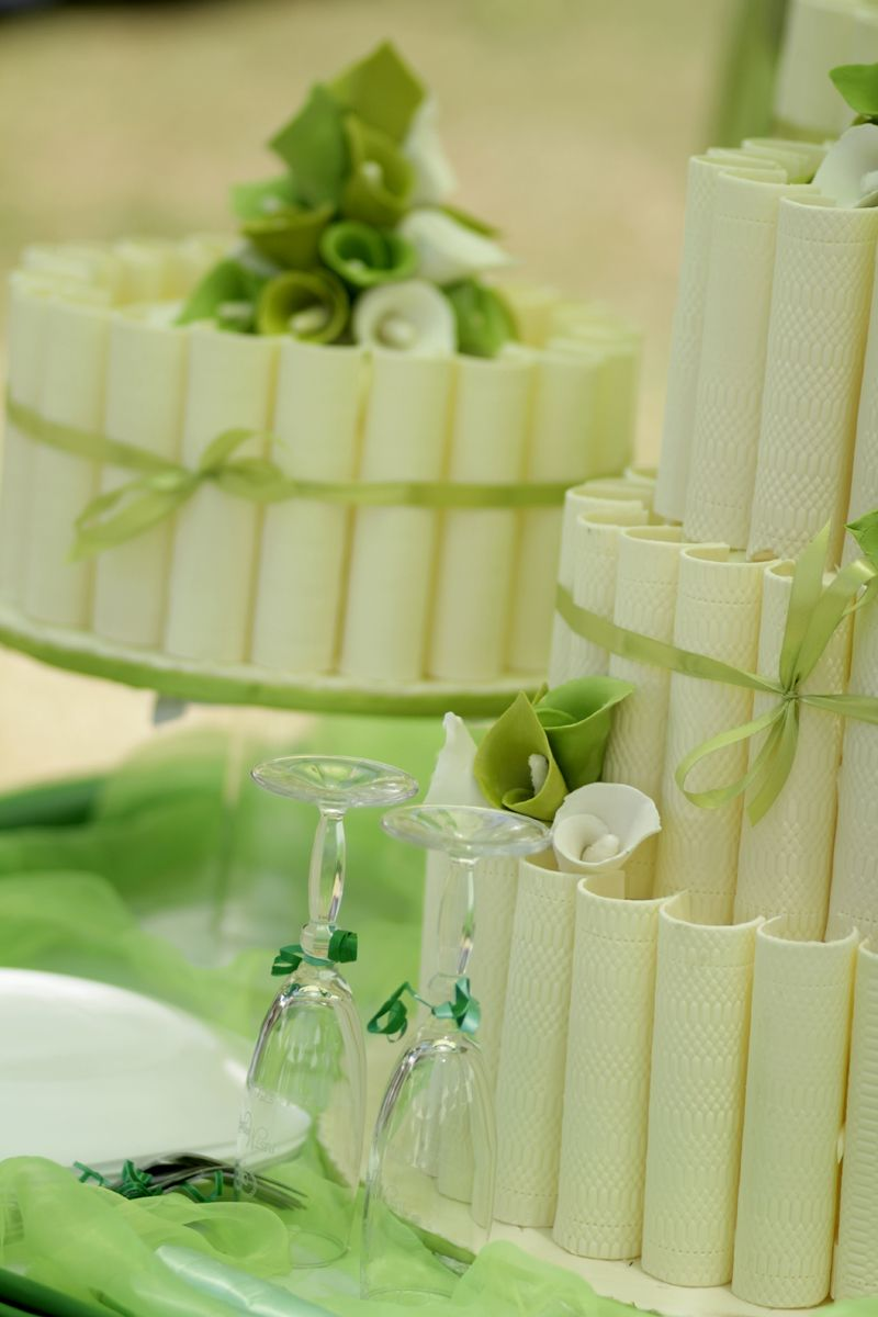 Wedding cakes have been part of the marriage ceremony ever since ...