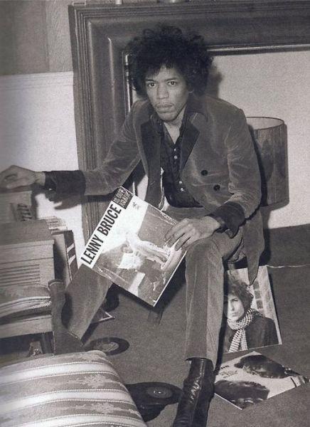 Jimi Hendrix  1967  Pre-digital downloads - spins some wax