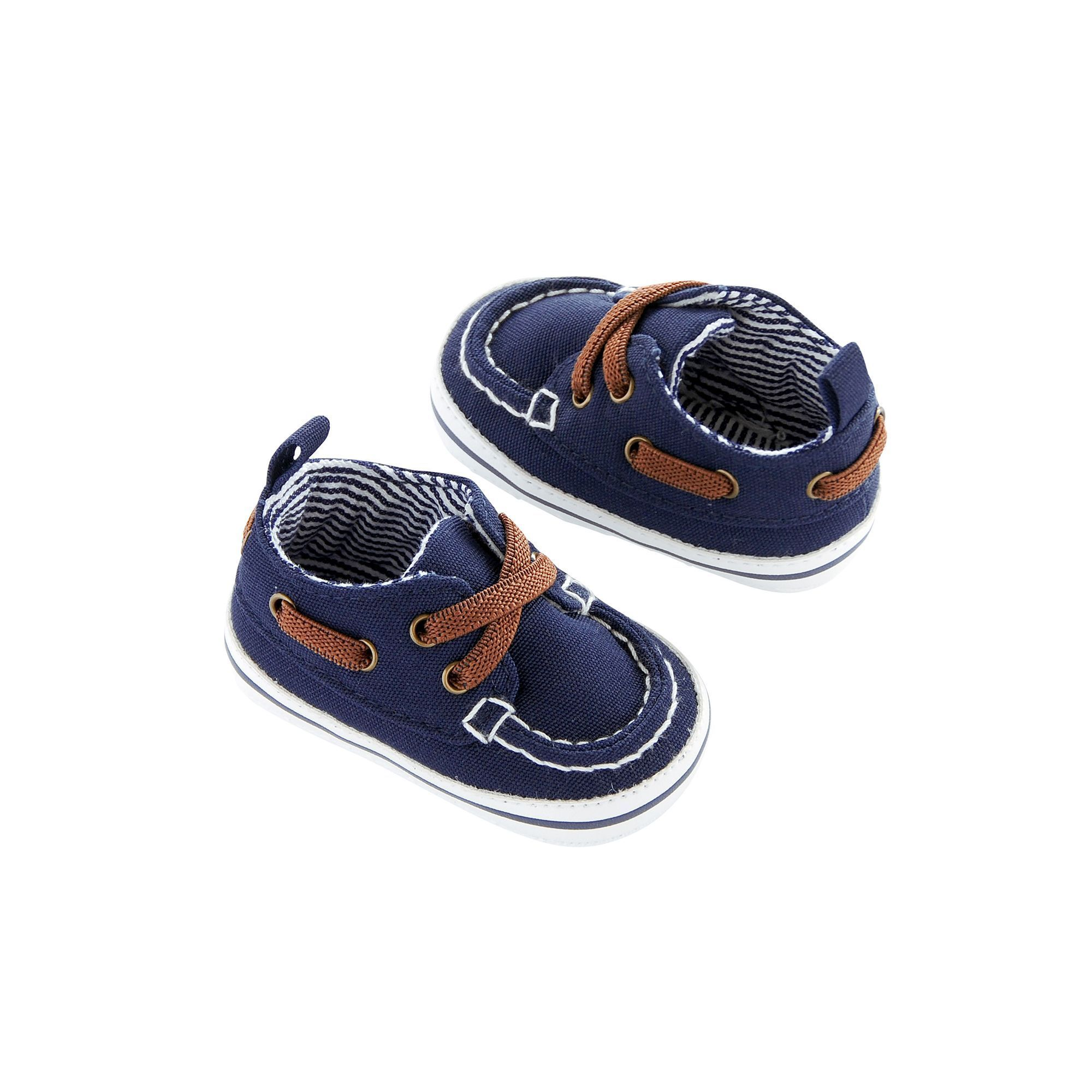 Baby Boy Carter s Boat Shoe Crib Shoes Size 6 9 Months Blue