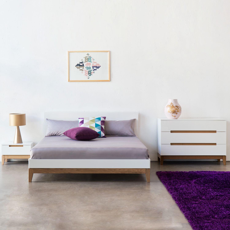 Bett Dahlia Bett Bett 140x200 Weiss Und Haus Deko