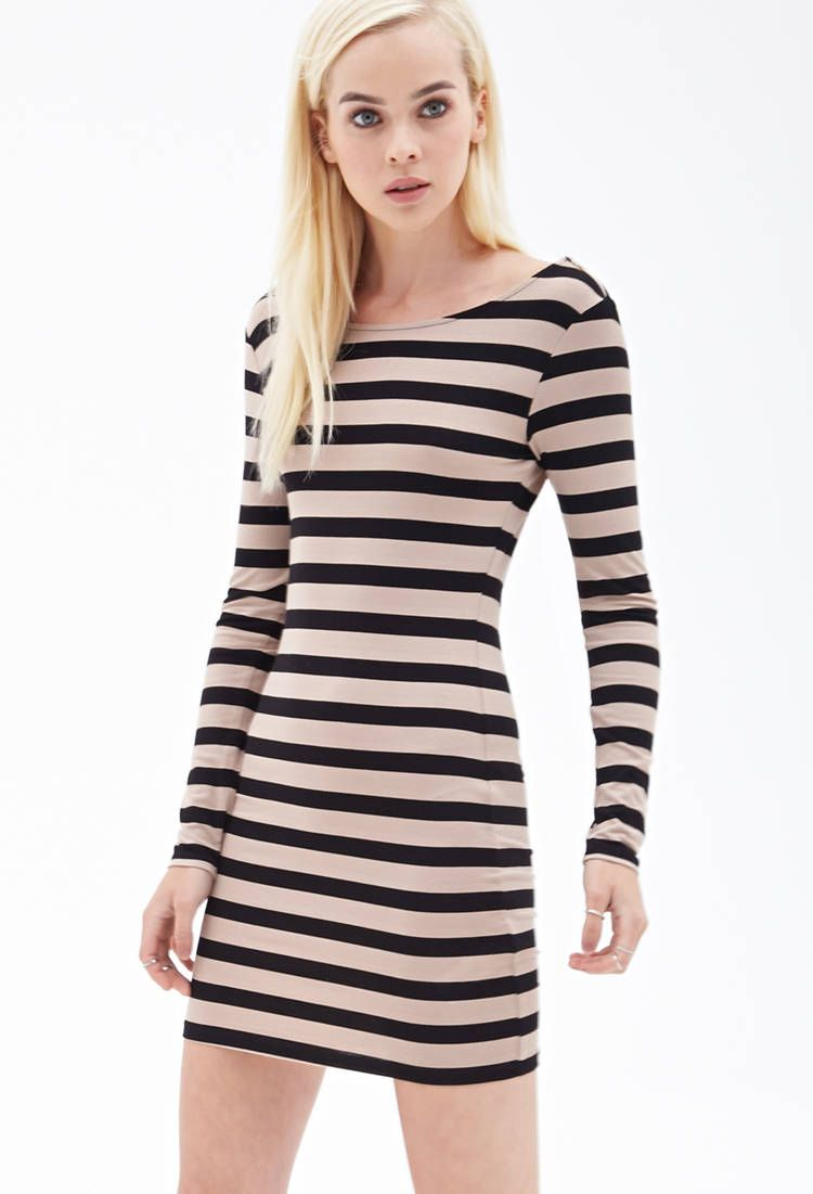 long sleeve black bodycon dress forever 21 Naf Dresses