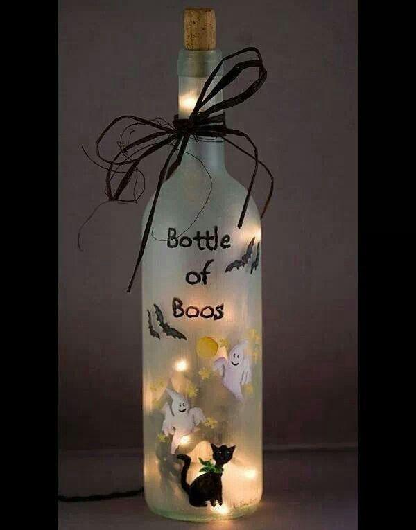 Bottle of Boos\ - halloween decorations on pinterest