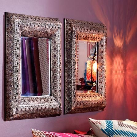 Room Moroccan Cut Out Mirror